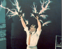 Dr. Moon Channeling 1,000,000 Volts of Electricity