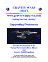 Gravity Warp Drive Supporting Documents e-Book