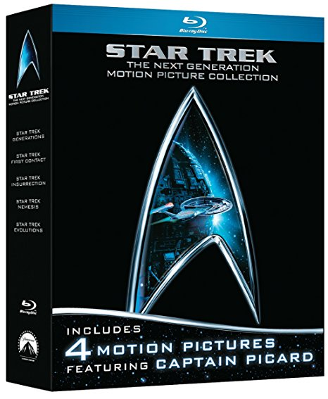 Star Trek The Next Generation - 4 Motion Pictures