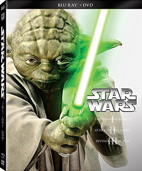 Star Wars Episodes I - III DVD and Blu-ray