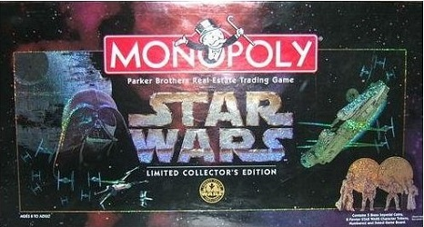 Star Wars Monopoly - Limited Collector's Edition